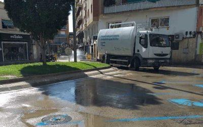 Castelldefels procedeix a la desinfecció de les zones més sensibles i concorregudes de la ciutat