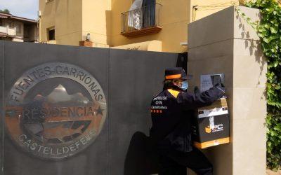 Castelldefels rep una partida de material sanitari distribuït per la Diputació de Barcelona