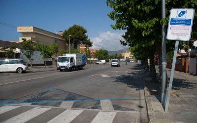 Castelldefels continua mantenint la zona blava gratuïta a tot el municipi