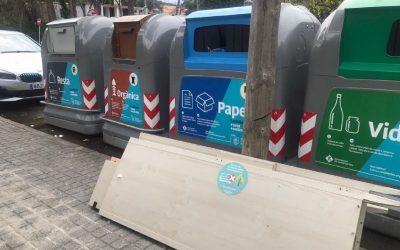 L'Ajuntament alerta del mal ús dels serveis de recollida d'escombraries i de Barri Net