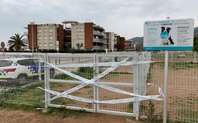 """Tancats tots els espais """"correcan"""" de Castelldefels"""