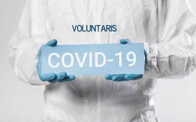Unes 130 persones s'inscriuen a la Borsa de Voluntariat COVID19 de l'Ajuntament