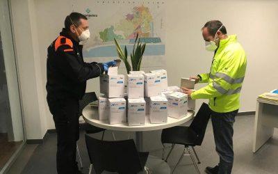 Diverses donacions per fer front al coronavirus mostren el costat més solidari de Castelldels