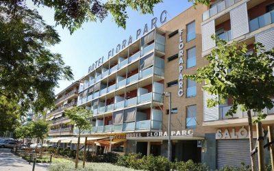 L'Hotel Flora Parc de Castelldefels reservat per a serveis essencials pel coronavirus