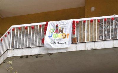 Castelldefels celebra un atípic però participatiu #santjordiacasa