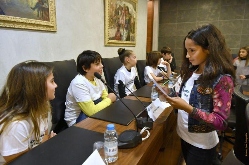 El Consell de la Infància debat per videoconferència presentar propostes sobre civisme i mobilitat