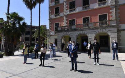 Castelldefels expressa el seu dol per les víctimes del coronavirus