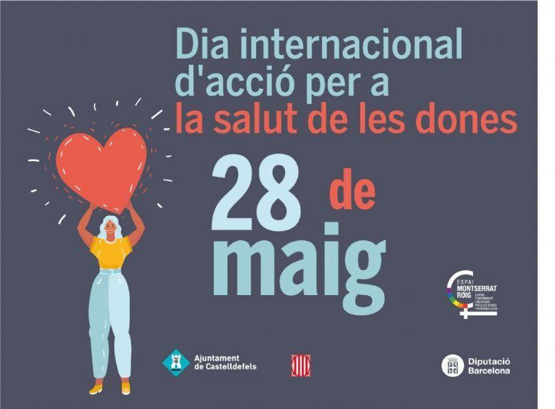 Commemoració virtual del Dia d'Acció per a la Salut de les Dones a Castelldefels