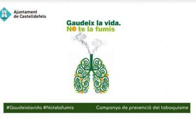 Castelldefels celebra aquest 31 de maig el Dia Mundial sense Tabac