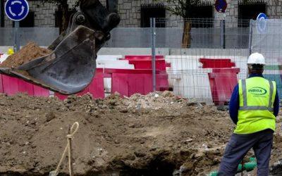 L'Ajuntament aixeca la suspensió d'obres a la via pública a Castelldefels