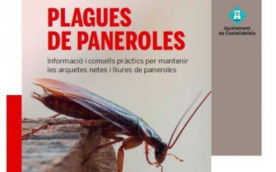 Prevenció, tractament i difusió de consells a la població, eines per evitar plagues de paneroles