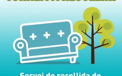 Torna a funcionar la recollida de mobles, trastos vells i restes de jardineria