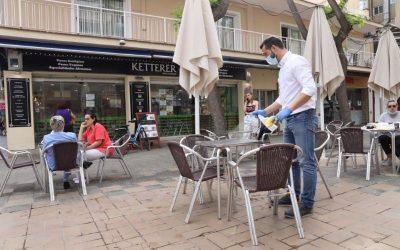 Les terrasses de bars i restaurants podran ampliar l'espai que ocupen, cas per cas