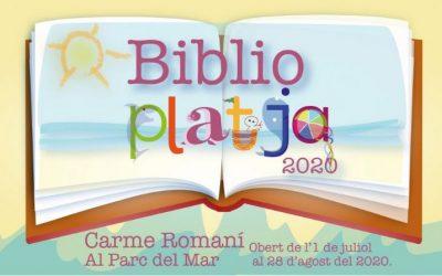 El juliol i l'agost, activitats familiars a la biblioteca de la platja totes les tardes