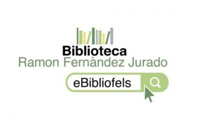 Neix eBibliofels: la biblioteca programa nous tallers i activitats que emetrà en línia