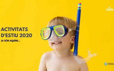 Inscripcions obertes per a les activitats Estiu 2020 del CEM Can Roca