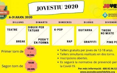 Música, dansa, art urbà, esport, teatre… el Jovestiu 2020 obre inscripcions
