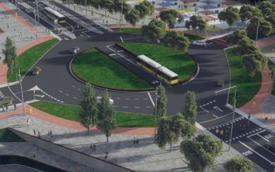 Adjudicades les obres de millora d'integració de la C-245 amb un carril bus i una via ciclista