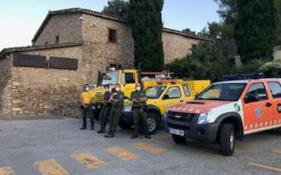 Castelldefels posa en marxa l'Operatiu Preventiu d'Estiu contra els incendis forestals