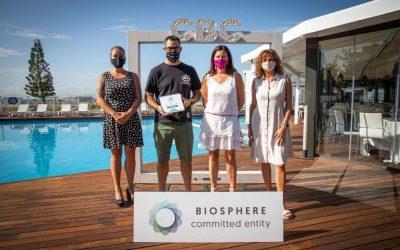 L'Oficina de Turisme i la Platja renoven el Compromís per la Sostenibilitat Turística Biosphere 2020