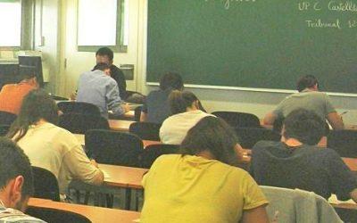 L'alumnat dels instituts de Castelldefels comença demà la selectivitat al campus universitari
