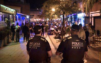 Més de 60 denúncies durant els controls policials del cap de setmana en les zones d'oci nocturn