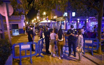 Segueix el reforç dels controls policials en les zones d'oci nocturn de Castelldefels