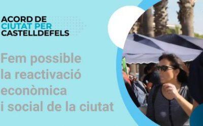Arrenca l'Acord de Ciutat per a la reactivació econòmica i social amb un pla de tres-centes mesures