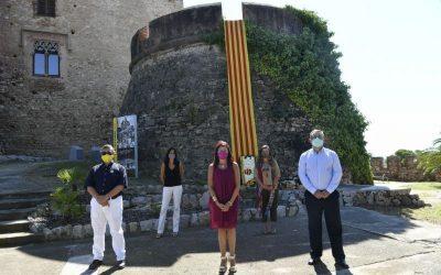 Castelldefels commemora una Diada marcada per la Covid-19
