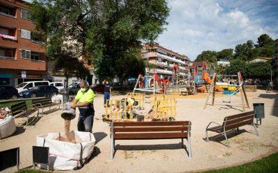 Ajuntament i Procicat demanen extremar les precaucions als parcs i zones de joc infantils