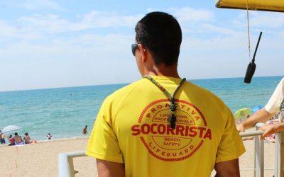 El servei de Salvament i Socorrisme a la platja, operatiu fins el 27 de setembre