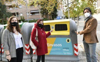 Castelldefels se suma a RECICLOS, el sistema de reciclatge amb recompensa d'Ecoembes