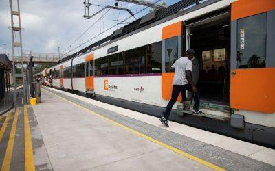 La circulació de trens per Castelldefels del 23 al 25 d'octubre, afectada per obres a Sants
