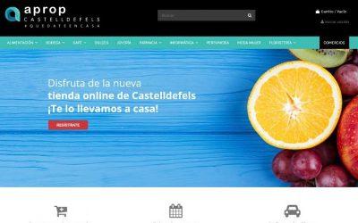 Una nova plataforma online permet comprar de forma segura als comerços de Castelldefels
