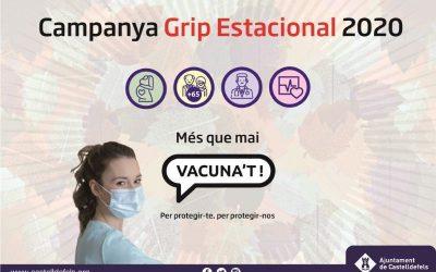 Comença a Castelldefels la campanya de vacunació contra la grip