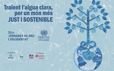 Les 31es Jornades de Pau i Solidaritat, per un món més just i sostenible