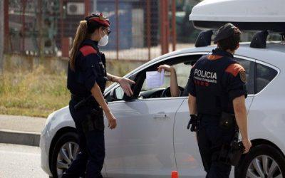 Segon cap de setmana de confinament perimetral dels municipis