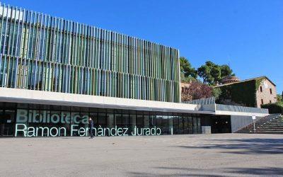 La Biblioteca Ramon Fernàndez Jurado vuelve a ofrecer sus servicios