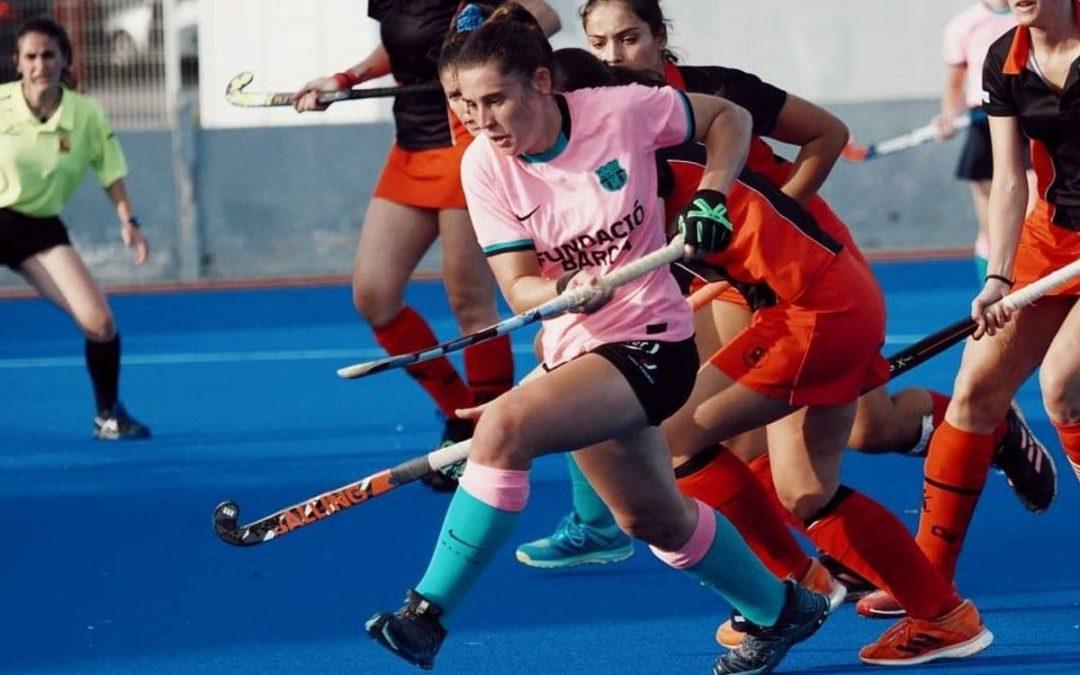 Doble ración de partidos de liga para el Castelldefels HC sénior femenino