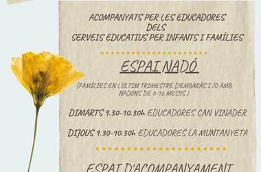Nuevos servicios de acompañamiento en la crianza de La Casa dels Infants 0 – 3 años