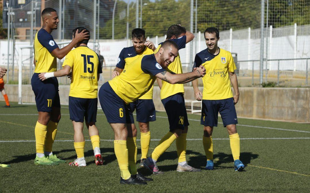 La UE Castelldefels guanya l'Igualada (3 – 0) i es col·loca tercera de la lliga