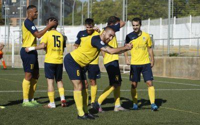 La UE Castelldefels gana al Igualada (3 – 0) y se coloca tercera de la liga