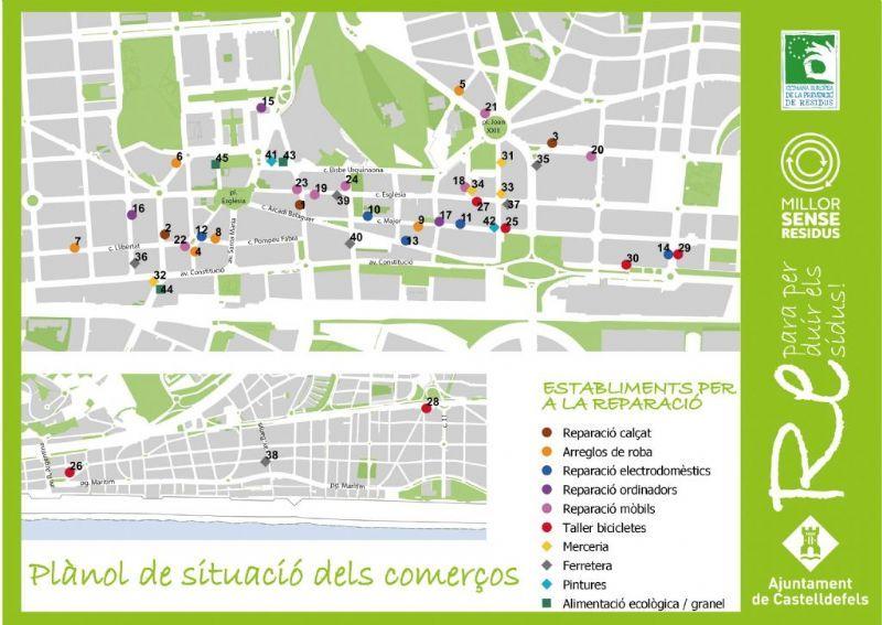 Castelldefels celebra fins diumenge la Setmana Europea de la Prevenció de Residus