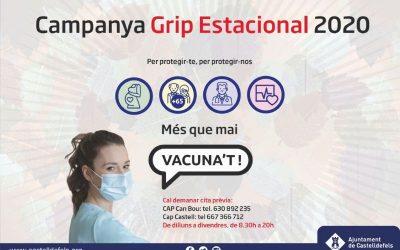 La vacunación contra la gripe en los centros públicos de salud, hasta enero