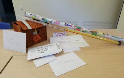 La clase de 4o B de la Escuela Garigot gana el concurso de cartas a los Reyes Magos