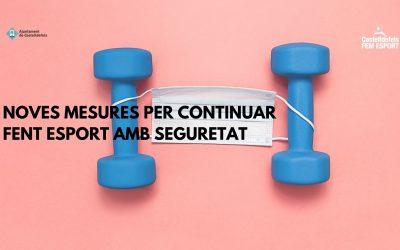 El CEM Can Roca se adapta para ofrecer sus actividades sin riesgos sanitarios