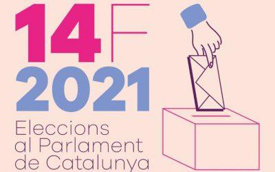 14-F: Una jornada electoral con todas las garantías sanitarias y de accesibilidad