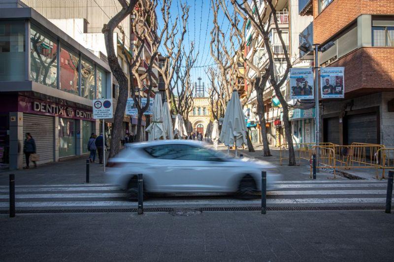 La restricció d'entrada i sortida de Castelldefels es prorroga fins al 24 de gener