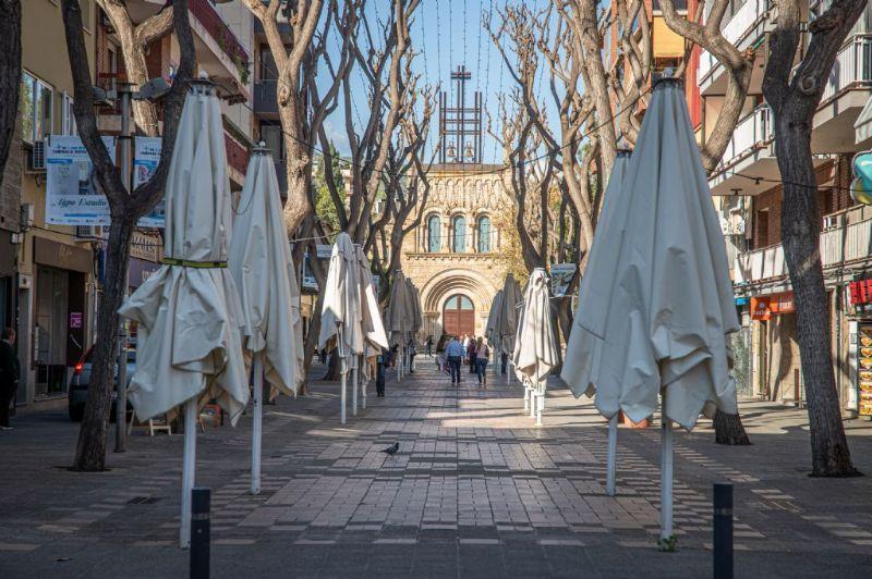 Restringida la entrada y salida de Castelldefels desde el jueves 7 de enero