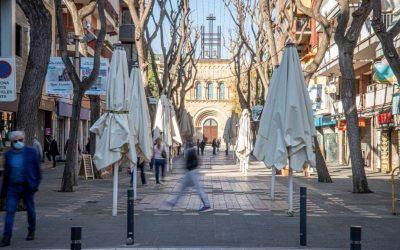 La restricción de entrada y salida de Castelldefels se prorroga hasta el 7 de febrero